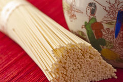 Japanese noodles. Japanese style noodles named Somen Royalty Free Stock Images