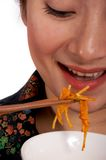 Japanese noodles Royalty Free Stock Photo