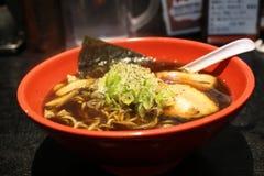 Japanese noodles Stock Photos