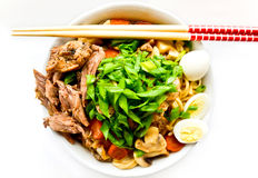 Japanese noodles stock image