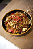 Japanese noodles Stock Photography