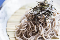 Japanese Noodles Soba Stock Photography