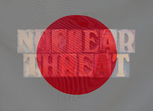 Japanese nuclear threat Royalty Free Stock Photo