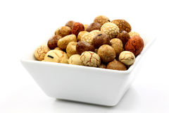 Japanese nuts Stock Photography