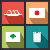 Japanese Objects Stock Images