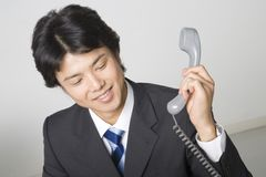 Japanese office worker Stock Images