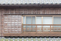 Japanese old house exterior Stock Photos
