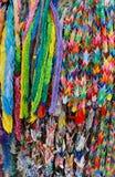 Japanese origami cranes. Royalty Free Stock Photos
