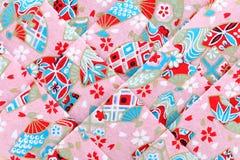 Japanese origami paper Stock Photo