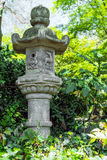 Japanese Ornamental Pagoda in Garden Royalty Free Stock Images