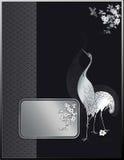 Japanese ornate background Stock Photo