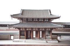 Japanese Osaka castle Stock Photography