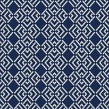 Japanese overlap diamond pattern Royalty Free Illustration