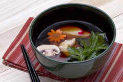 Japanese Ozoni Dish Royalty Free Stock Photography
