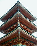 Japanese pagoda. Pagoda from Kyomizudera Temple,Kyoto Japan Royalty Free Stock Images