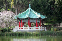 Japanese Pagoda. Royalty Free Stock Photo