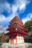 Japanese pagoda Stock Image
