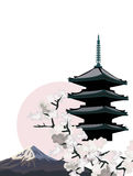 Japanese Pagoda Stock Images