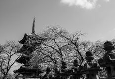 Japanese pagoda Stock Photos