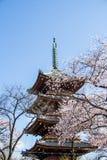 Japanese pagoda Stock Images