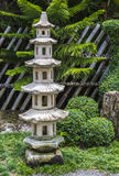 Japanese pagoda stone Stock Images
