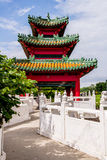 Japanese Pagoda Zen Garden Royalty Free Stock Images