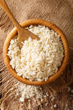 Japanese Panko crumbs for breading in a bowl on a table close-up Royalty Free Stock Photo