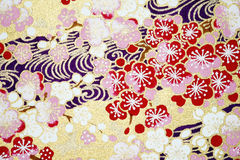 Japanese paper background Stock Photos