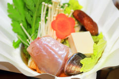 Japanese paper craft hot pot Stock Photo