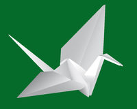 Japanese paper crane Stock Image