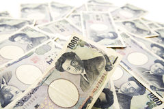 Japanese Paper Currency Stock Images