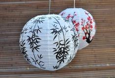 Japanese paper lantern Royalty Free Stock Photo