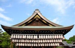 Japanese paper lanterns Royalty Free Stock Image