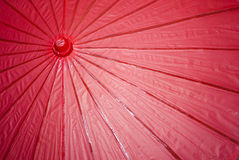 Japanese Paper Umbrella Royalty Free Stock Images