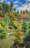 Japanese park. Near Nikko city Tochigi Prefecture stock photography