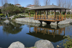 Japanese Park, La Serena Chile Stock Images
