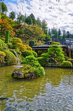 Japanese park Royalty Free Stock Images