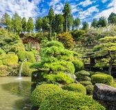 Japanese park near Nikko city. Tochigi Prefecture stock image
