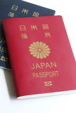 Japanese Passport Royalty Free Stock Photography