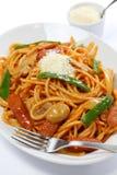 Japanese pasta dish Stock Image