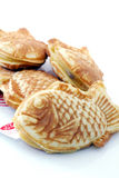 Japanese pastry fish. Royalty Free Stock Photography