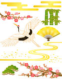 Japanese pattern Stock Images