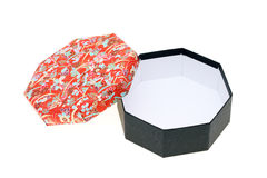 Japanese pattern gift box Royalty Free Stock Images
