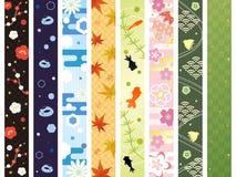 Japanese Pattern royalty free illustration