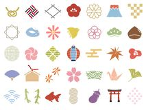 Japanese pattern vector illustration