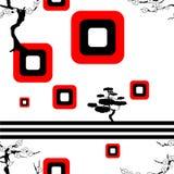 Japanese pattern nippon background Stock Image