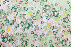Japanese pattern paper. Handmade traditional japanese pattern paper, texture backgrou Royalty Free Stock Photo