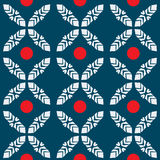 Japanese pattern seamless abstract red dot tile background Stock Photography