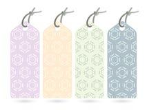 Japanese pattern tag Royalty Free Stock Photo