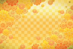 Japanese patterns. An illustration of japanese patterns Stock Photography
